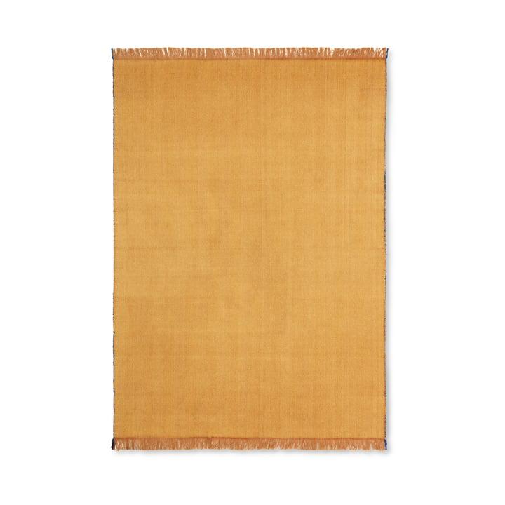 Herringbone blanket 120 x 180 cm from ferm Living in mustard