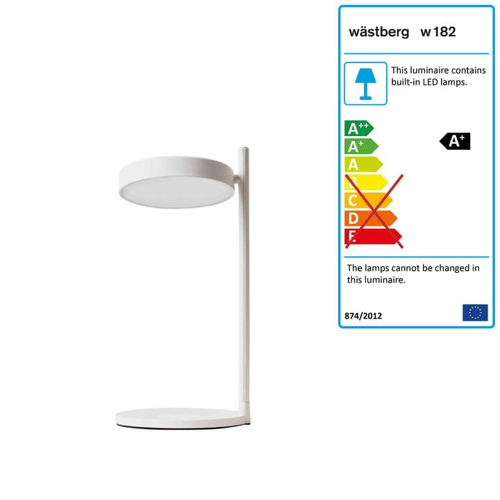 w182 Pastille LED table lamp b2 from Wästberg in soft white