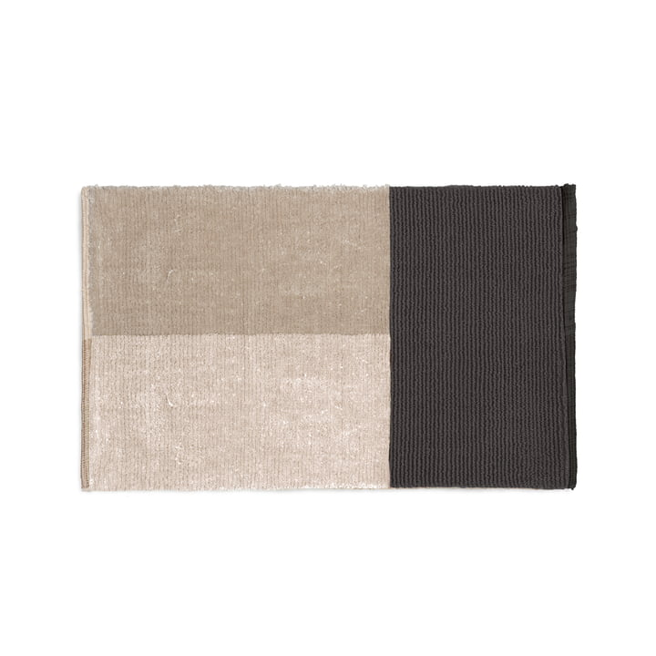 Pile bath mat 80 x 50 cm from ferm Living in grey