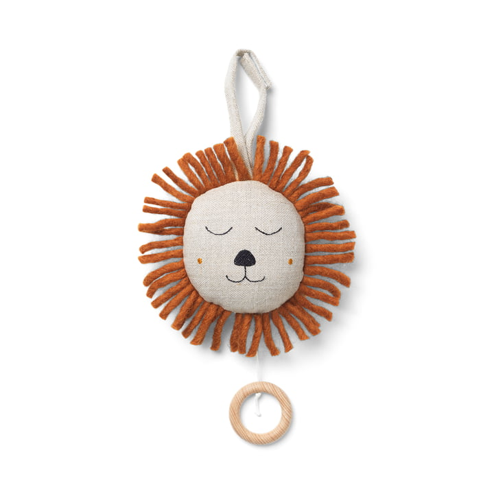Lion music box by ferm Living nature