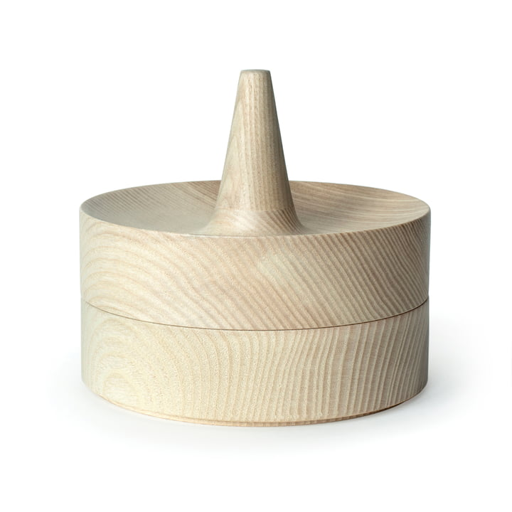 Tani bowl with mirror lid by Caussa in ash nature
