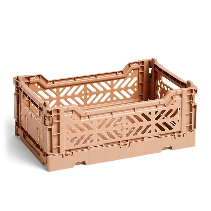 Hay - Colour Crate basket S, 26.5 x 17 cm, nougat