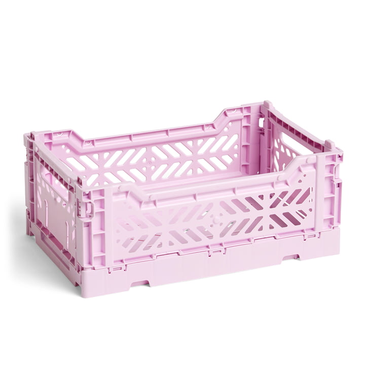Hay - Colour Crate Basket S, 26,5 x 17 cm, lavender