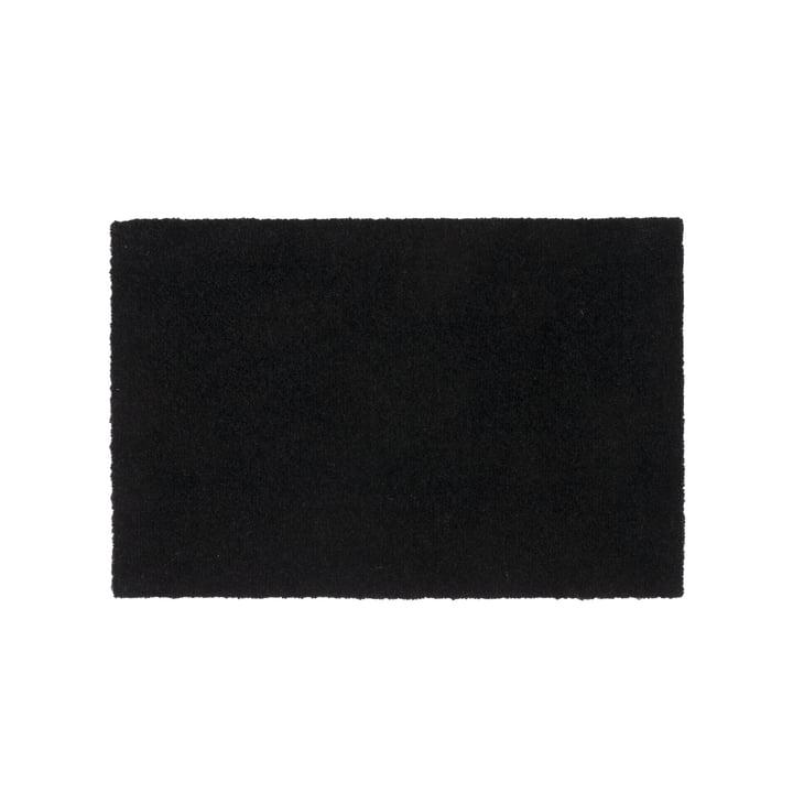 Doormat 40 x 60 cm by tica copenhagen in Unicolor black