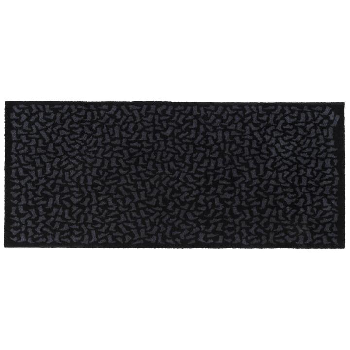 Footwear doormat 67 x 150 cm from tica copenhagen in black / grey