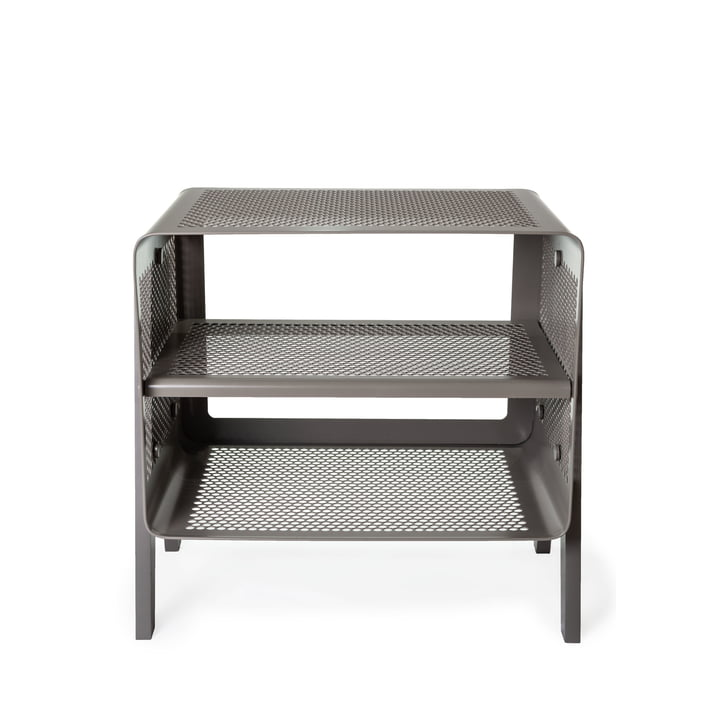 Stand-shoe rack 50 x 35 x 50 cm from tica copenhagen in grey