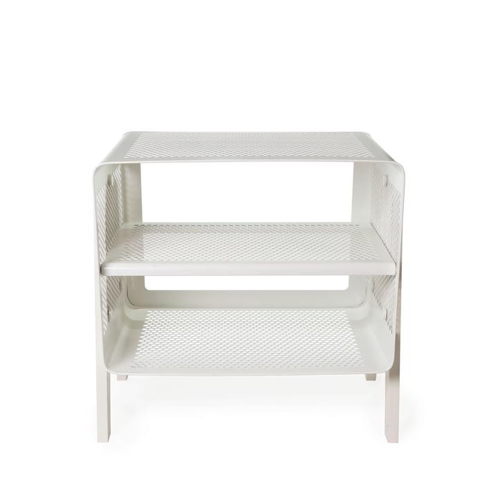 Stand-shoe rack 50 x 35 x 50 cm from tica copenhagen in white