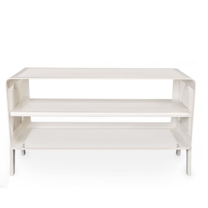 Stand-shoe shelf 88 x 35 x 50 cm from tica copenhagen in white