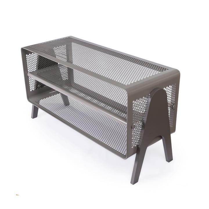 Stand-shoe shelf 88 x 35 x 50 cm from tica copenhagen in grey