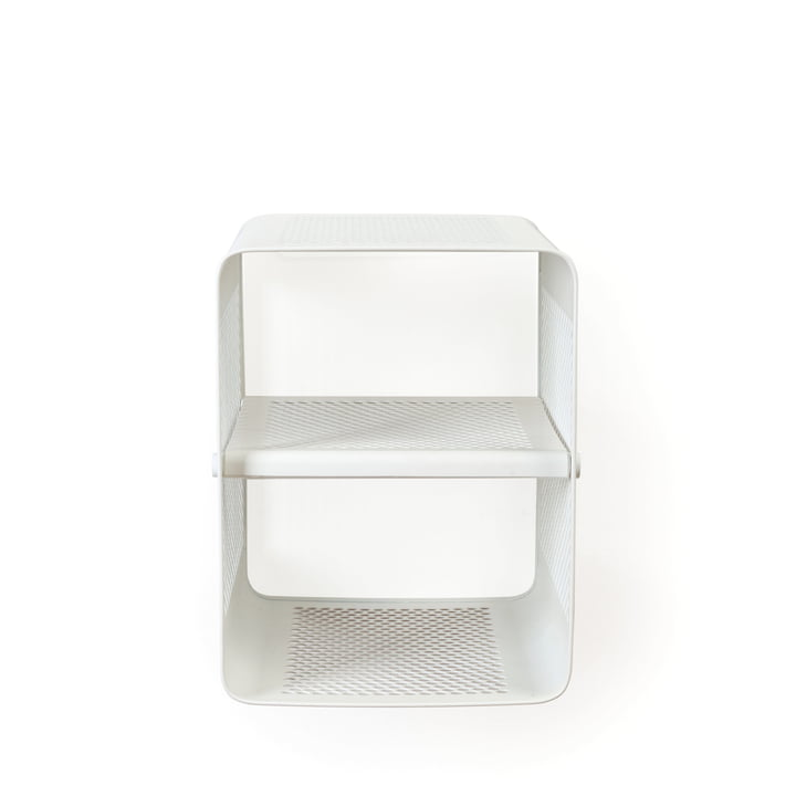 Wall shoe rack 35 x 35 cm from tica copenhagen in white