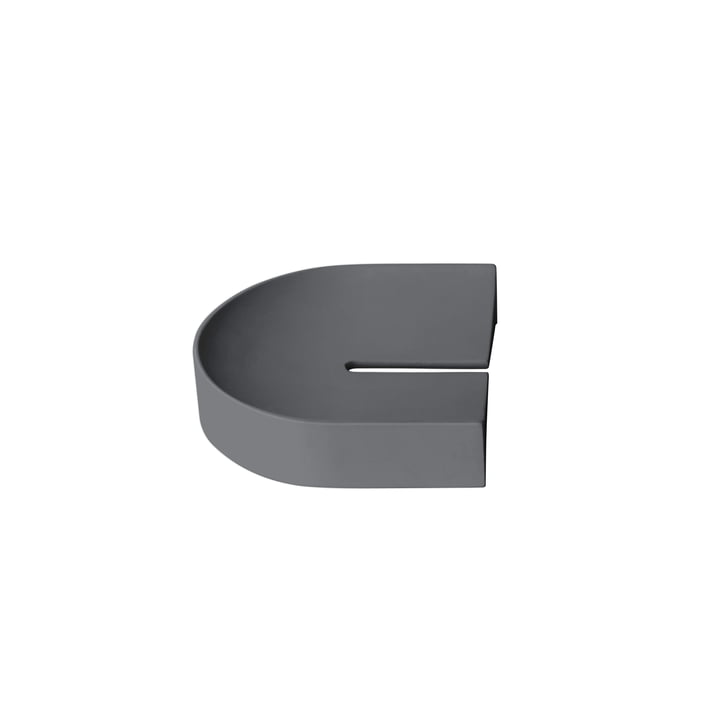 Arc tray small from Caussa in grey
