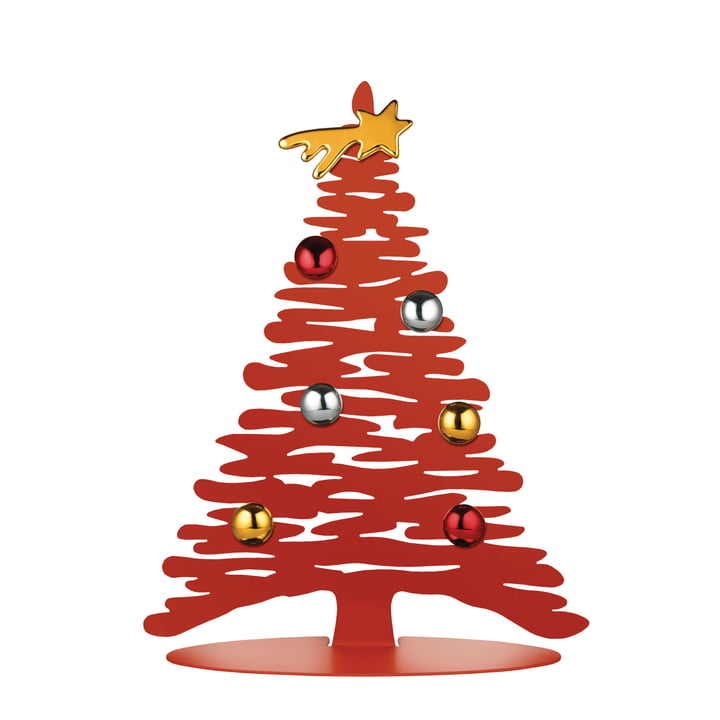Bark for Christmas H 30 cm from Alessi in red