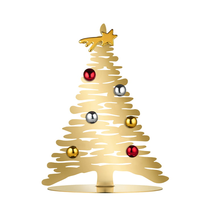 Bark for Christmas H 30 cm from Alessi in gold