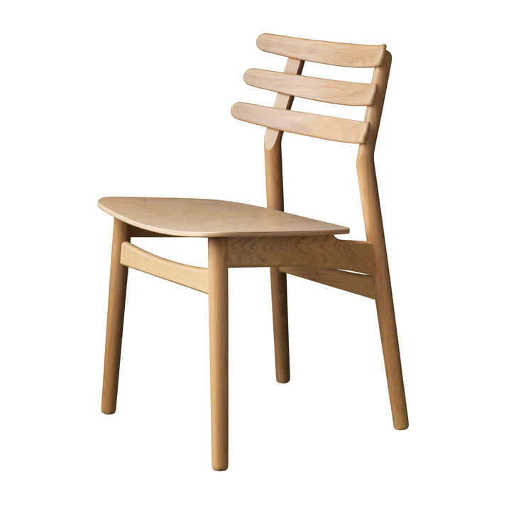 J48 Chair, oak matt lacquered by FDB Møbler