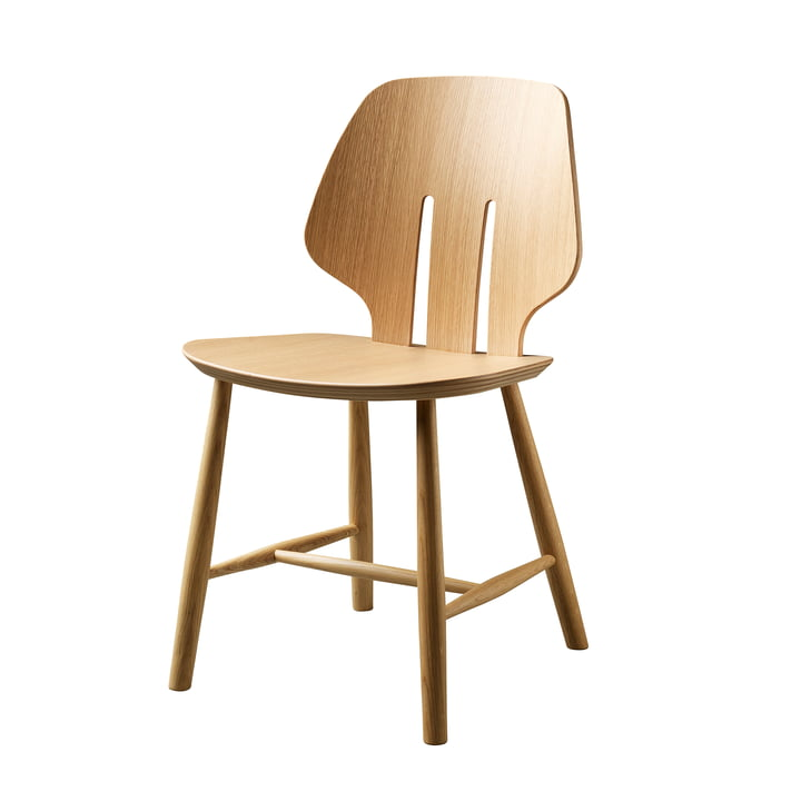 J67 Chair, oak clear lacquered by FDB Møbler