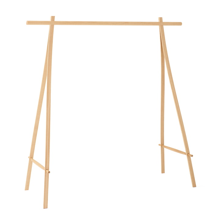 Coat rack 150 cm, oak from Made by Hand