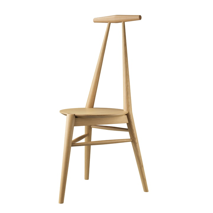 J157 Anchor chair, oak clear lacquered by FDB Møbler