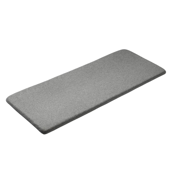 Seat cushion for F24 Radius Bench by FDB Møbler in grey