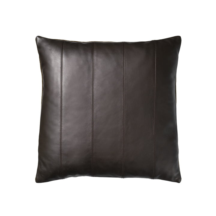 R9 Leto Leather cushion 45 x 45 cm from FDB Møbler in brown