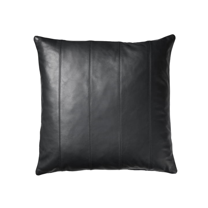 R9 Leto Leather cushion 45 x 45 cm from FDB Møbler in grey