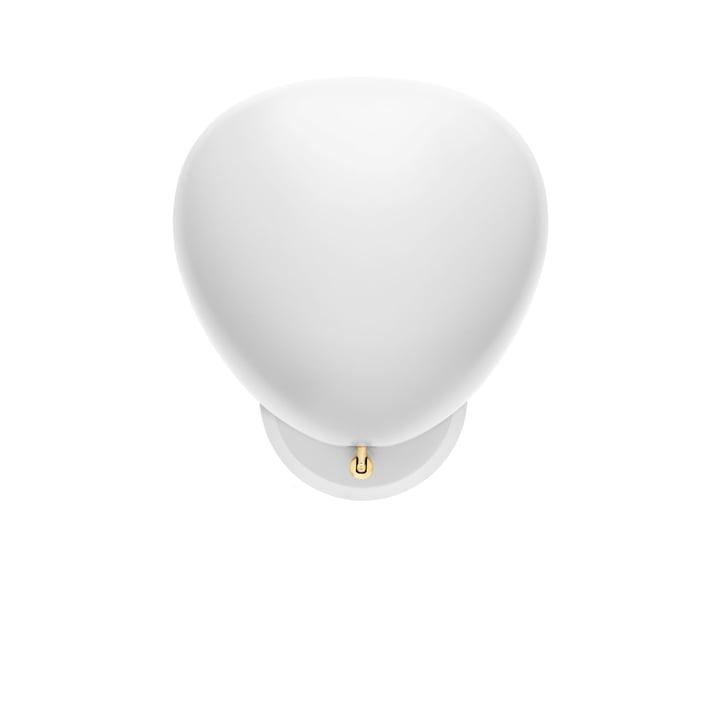 Cobra wall lamp from Gubi in white
