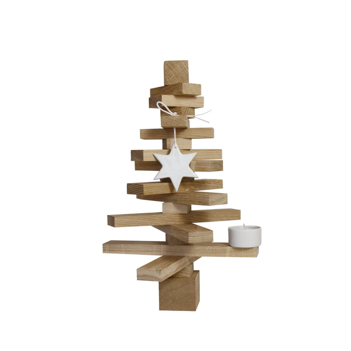 Tree set H 30 cm, oak nature of room design