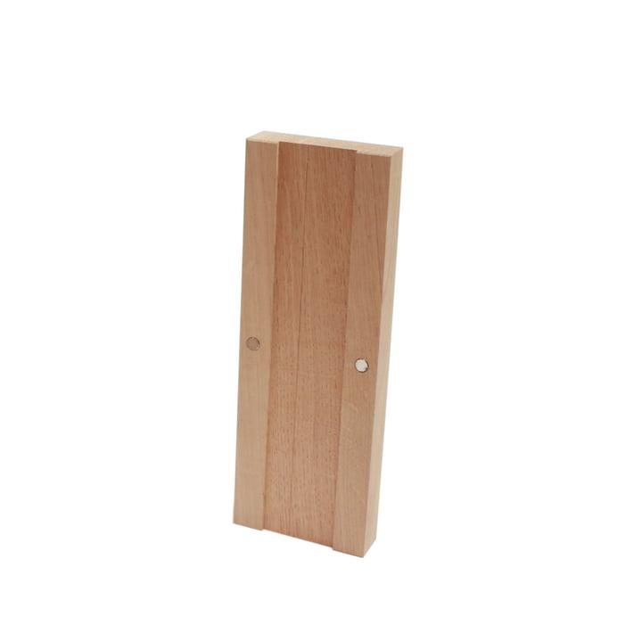 Knife block Add-On, oak nature of room design