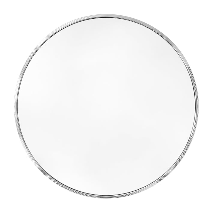 Sillon wall mirror SH6 Ø 96 cm from & tradition in chrome