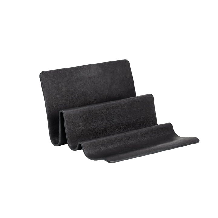Wave desk organizer by Fritz Hansen in black