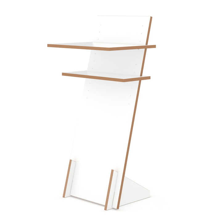 lectern standing desk from Tojo in white