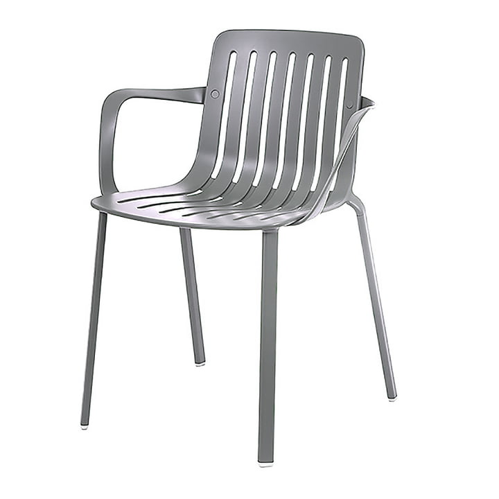 Plato Armchair by Magis in metal grey
