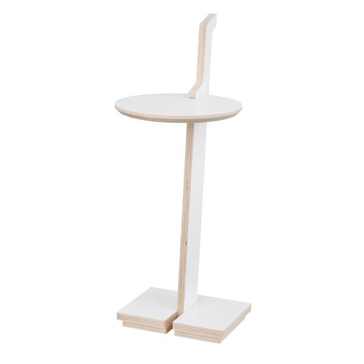 lesestelle Bücherregal to go / Side table by Tojo in white