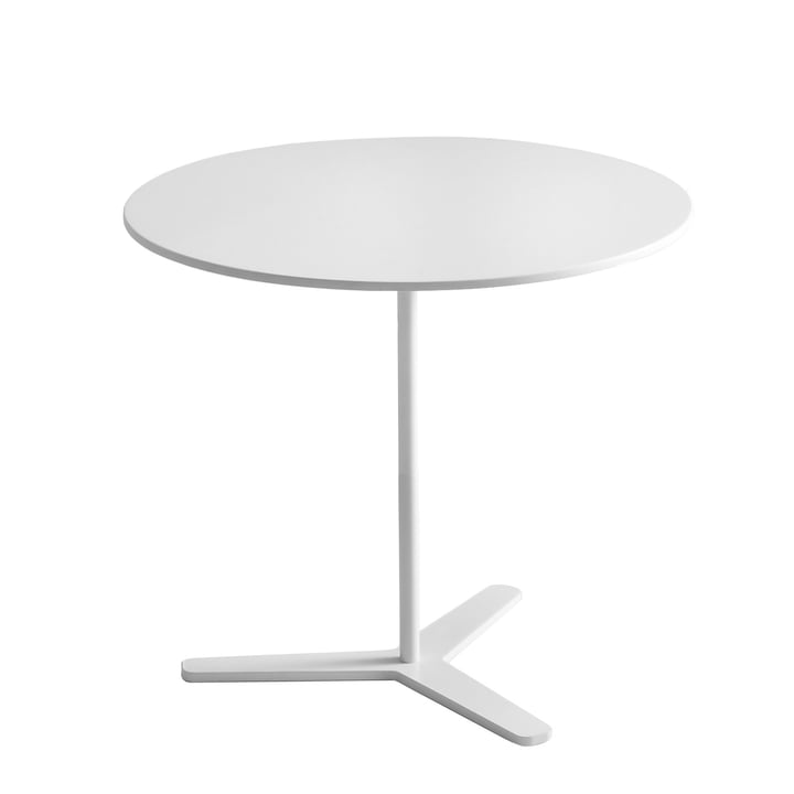 Tre side table Ø 45 x H 42 cm from Mox in white