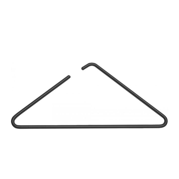 Triangle coat hanger from Roomsafari in black