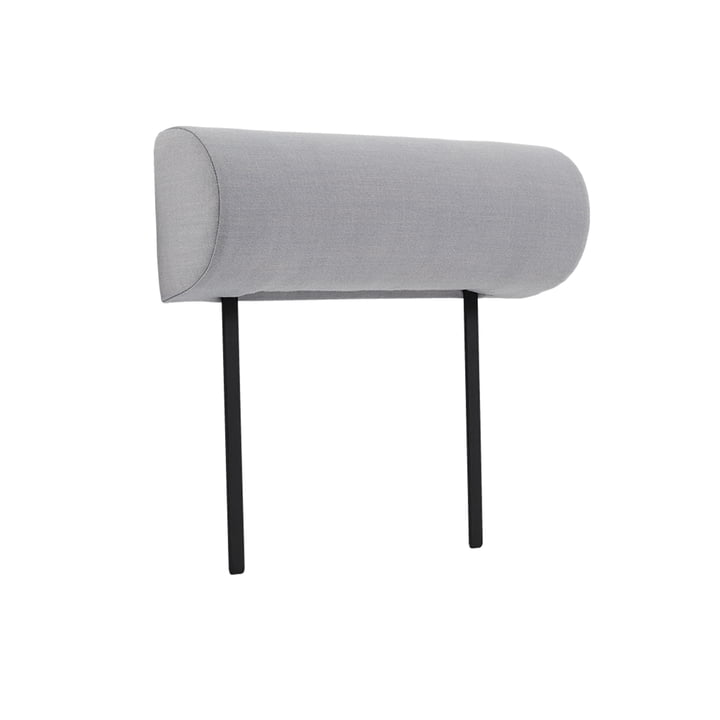 Armrest for Weber Modulsofa of objects of our day in grey (Atlas 131)