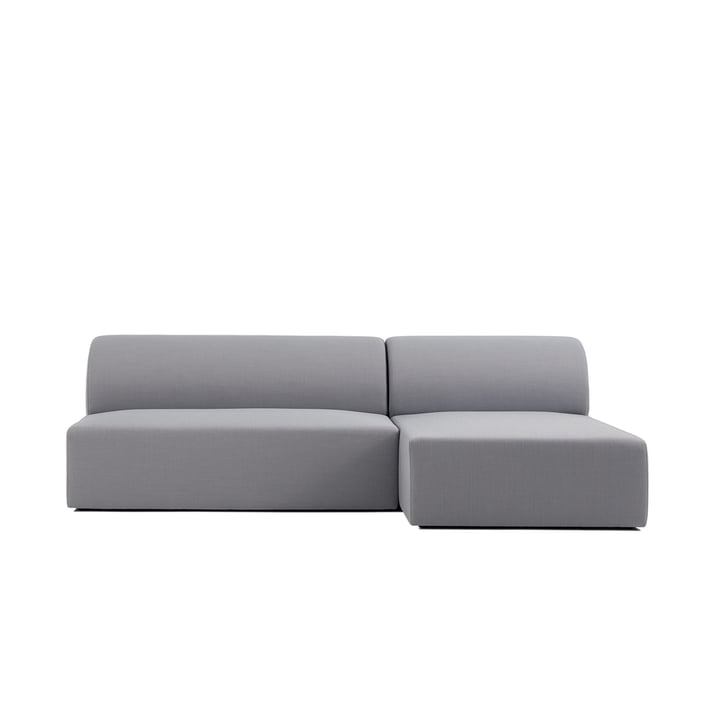 Weber Modulsofa Design 01 of objects of our day in grey (Atlas 131)