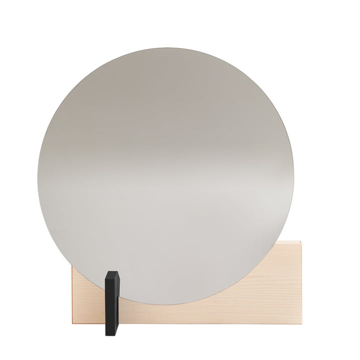 Hoffmann mirror of objects of our days waxed in ash / black