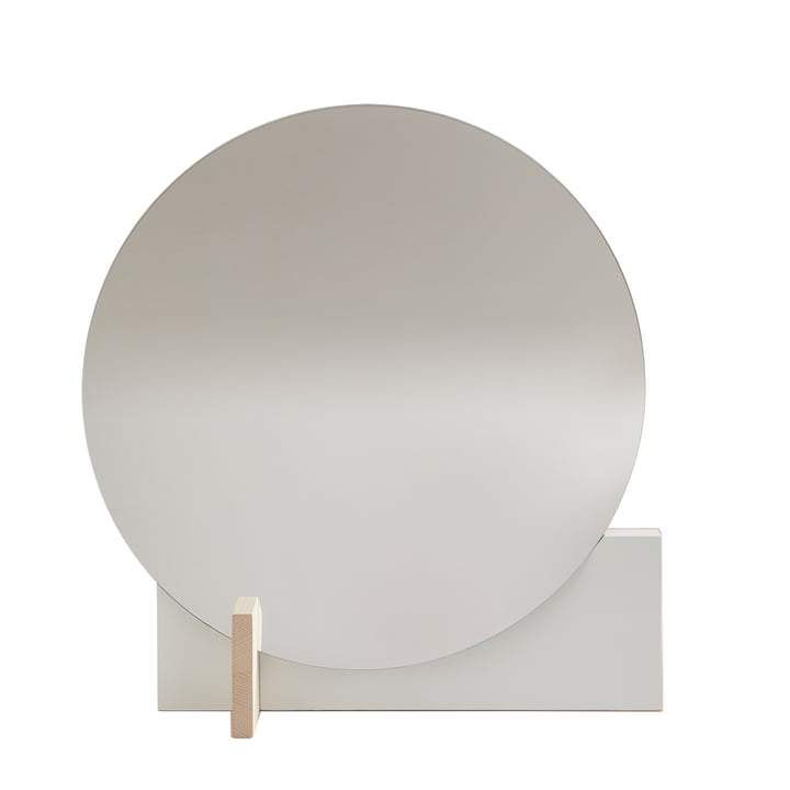 Hoffmann mirror of objects of our days waxed in ash / white