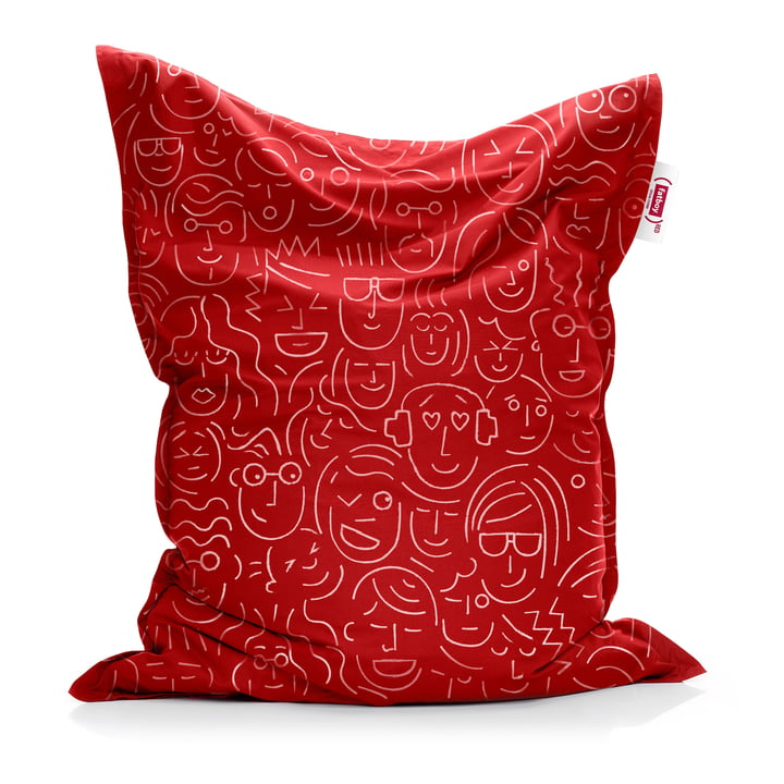Beanbag Original from Fatboy in red (let's-face-it / Special Edition)