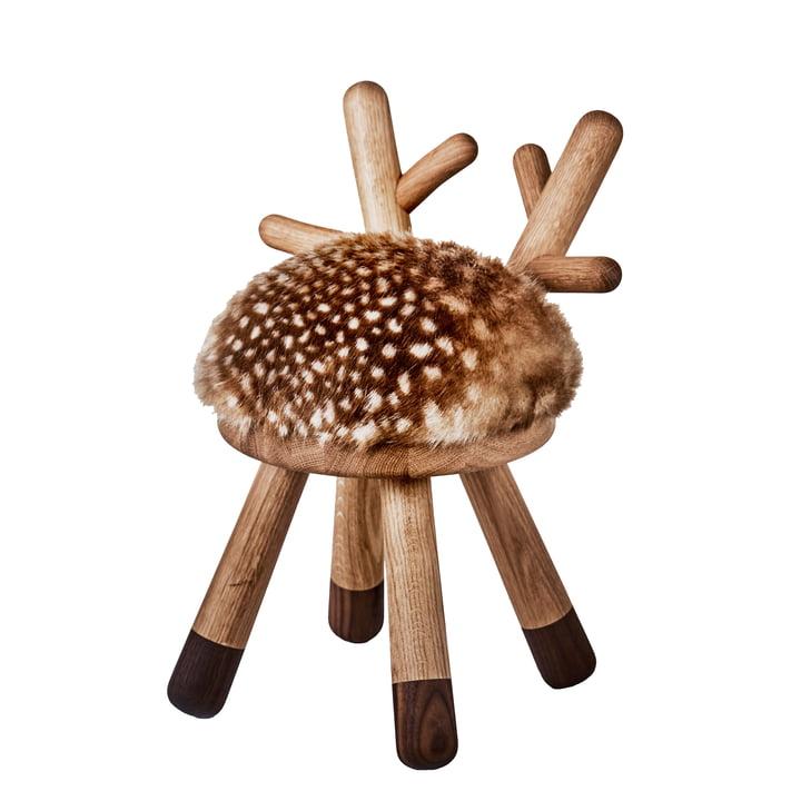 Bambi high chair from EO Denmark in oak / walnut