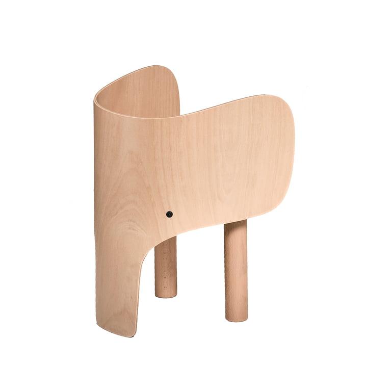Elephant children's chair by EO Denmark in matt beech varnished