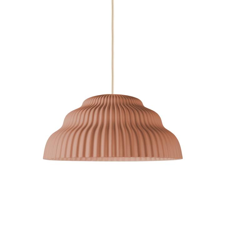 Cascade pendant luminaire, rust from Schneid