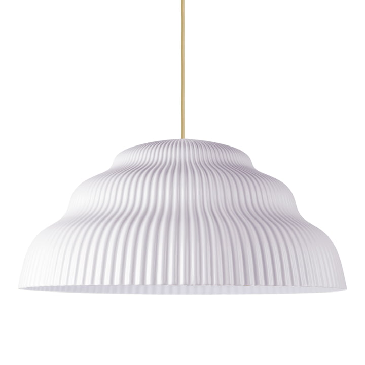 Cascade pendant light, large, seashell from Schneid