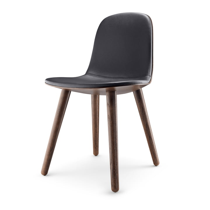 Abalone Dining Chair by Eva Solo in smoked oak / black