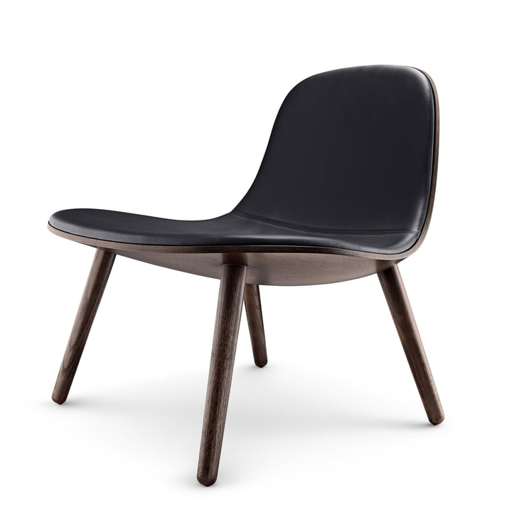Abalone Lounge Chair by Eva Solo in smoked oak / black