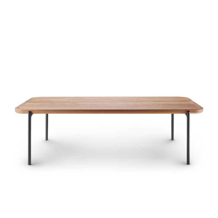 Savoye coffee table 120 x 50 cm by Eva Solo in natural oak / black