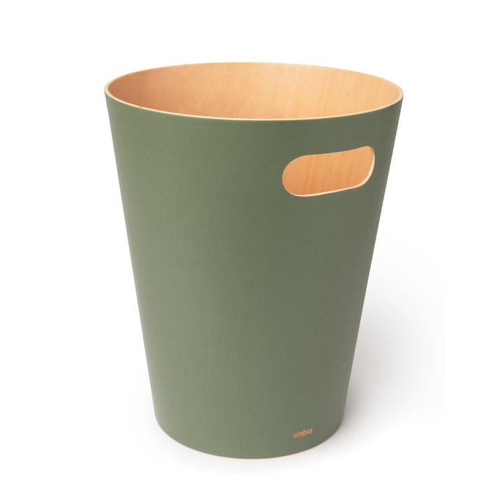 Woodrow wastebasket from Umbra in spruce
