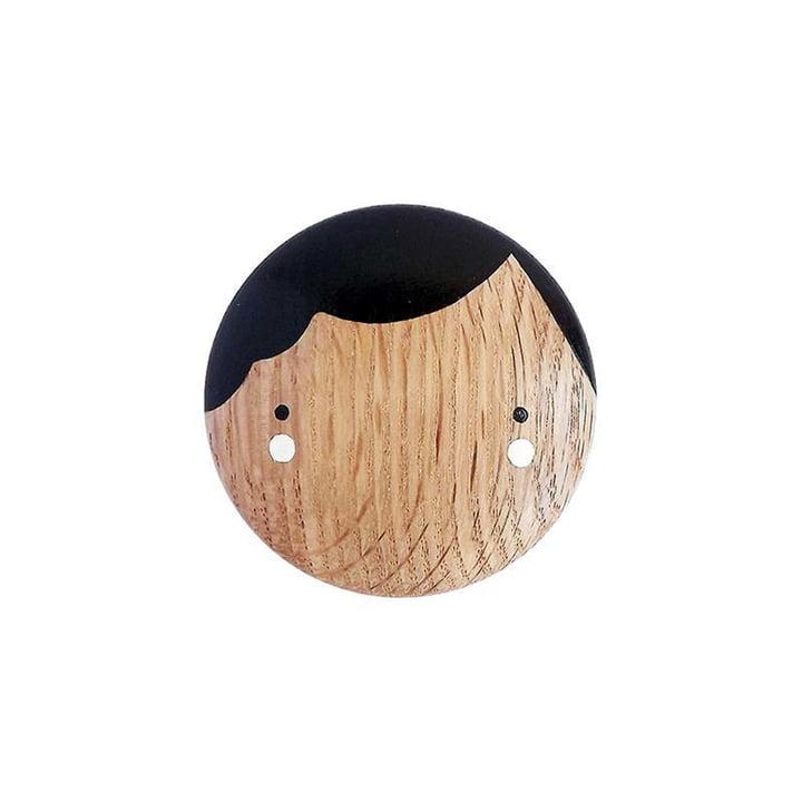 Sketch Inc. Coco wall hook Ø 9 cm by Lucie Kaas in oak