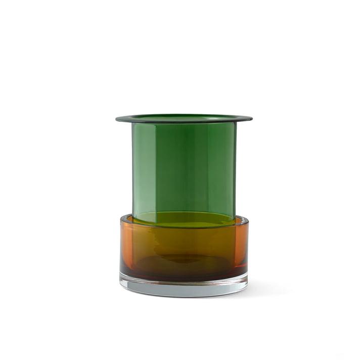 Triecolore vase SH1 from & tradition in malachite / cornaline