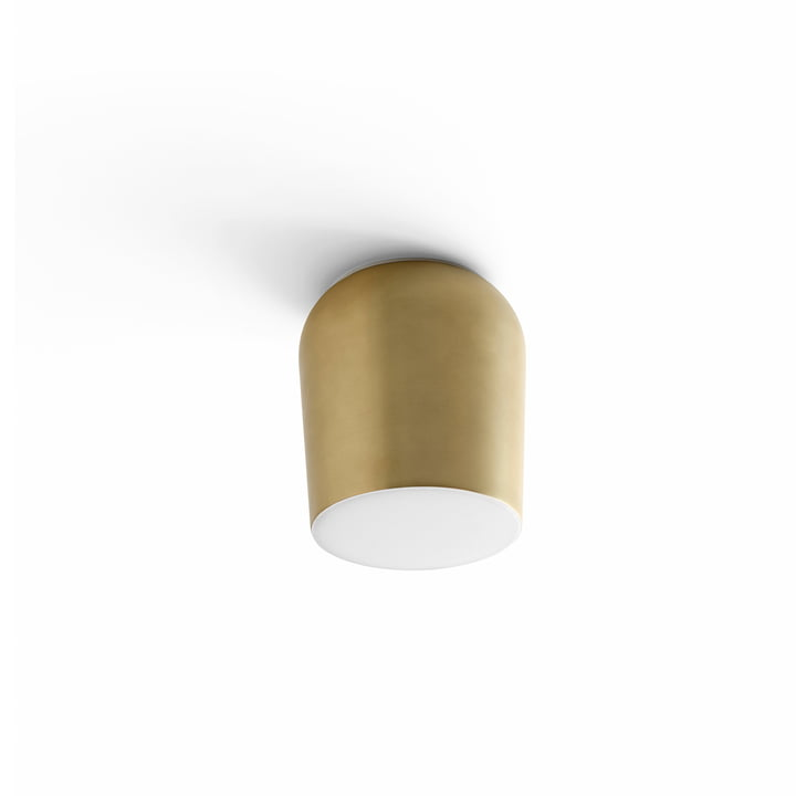 Passepartout wall and ceiling lamp JH10 Ø 15,5 x H 17 cm from & tradition in gold